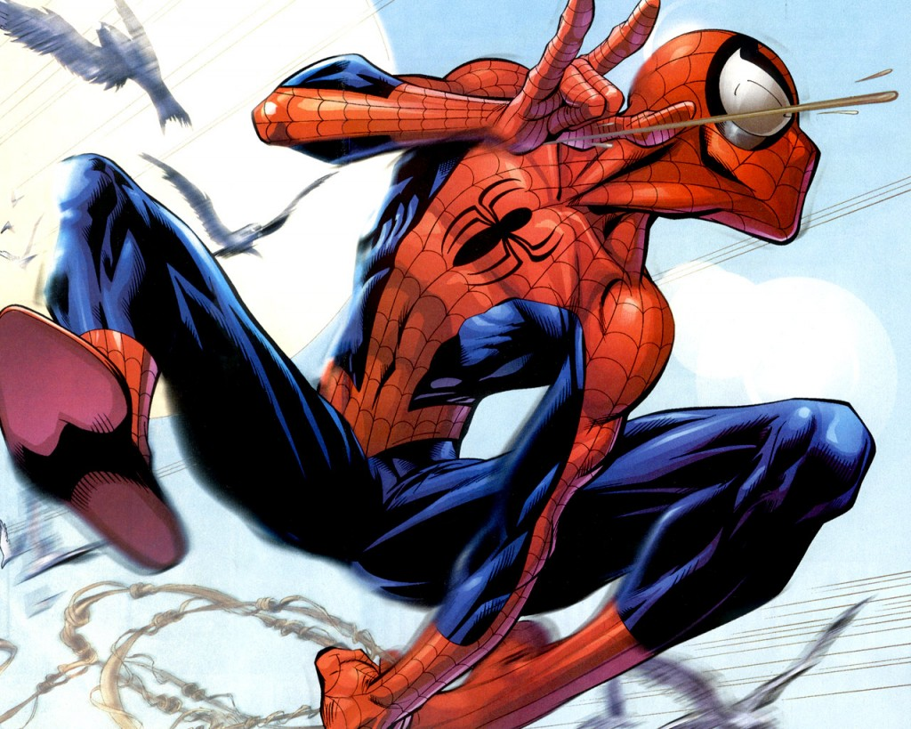 Ultimate Spider-Man, art by Mark Bagley