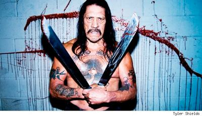 Machete does what he does best: he kills.