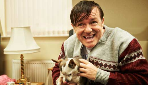 Ricky Gervais' Derek is the friendliest face on TV (er, Netflix.)