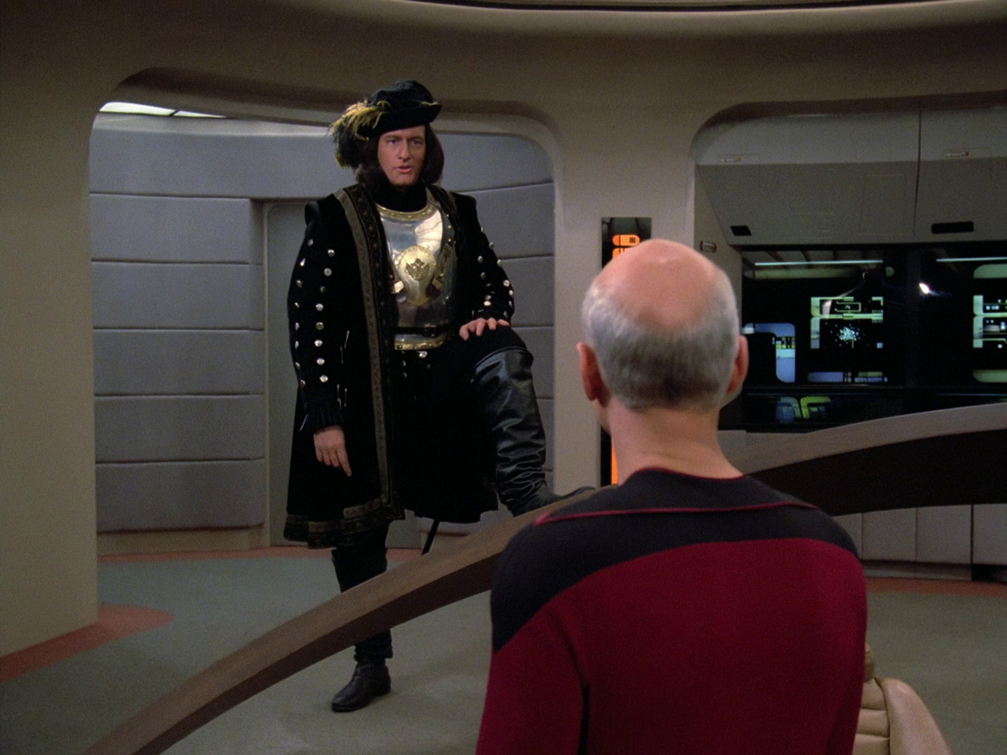 On the other hand, The Motion Picture didn't have this image. (Source: TrekCore)