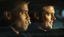 Buddy cops Michael Ealy and Karl Urban star in Almost Human.