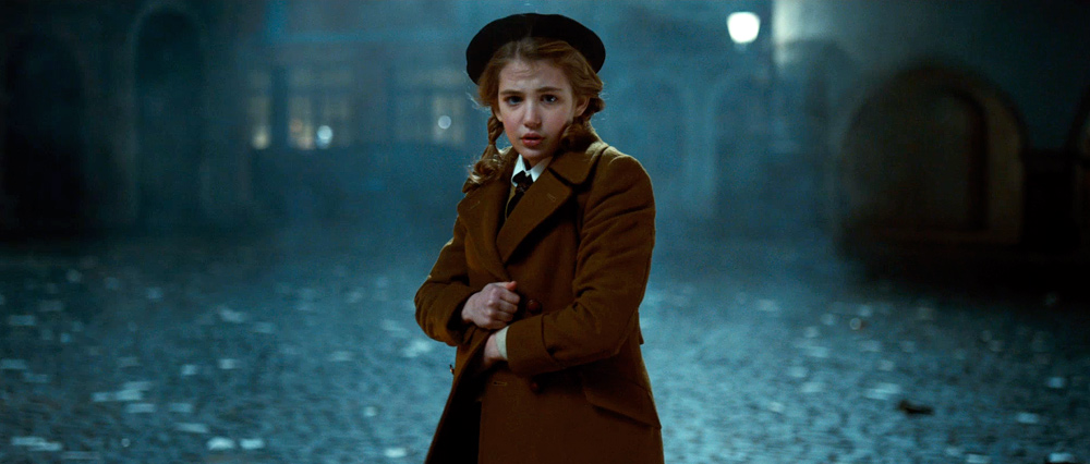 quality trumps flash in the book thief this season s quietest  sophie nelisse stars as orphan liesel in the book thief