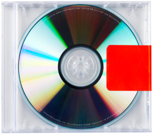 Yeezus has no cover art. Yeezus needs no cover art.
