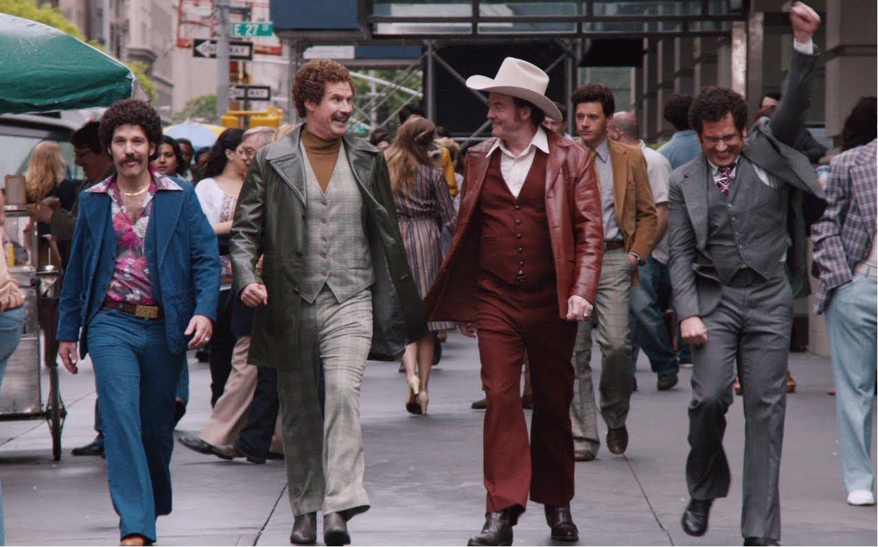 The gang, struttin'.