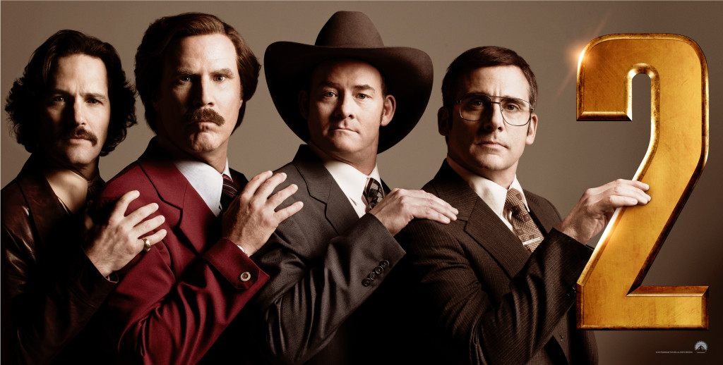 Rudd, Ferrell, Koechner & Carell stay classy.
