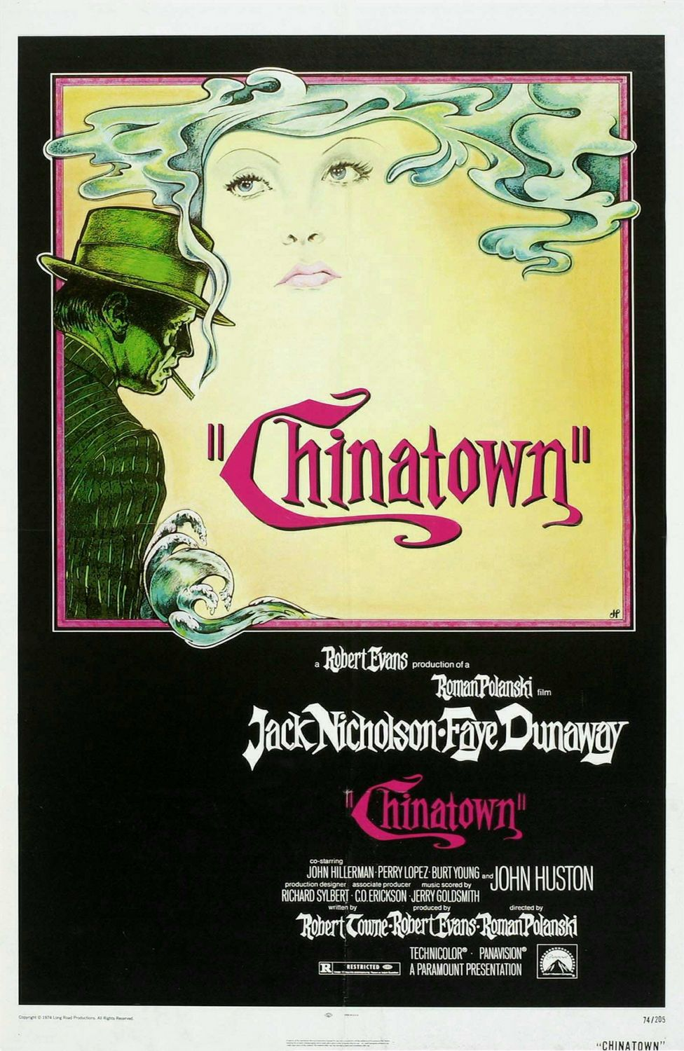 noir of chinatown essay Chinatown at 40: the making of polanski's la noir  robert towne ( screenwriter): there was a photo essay in an old colour supplement that.