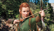Warrior elf Tauriel (Evangeline Lilly) is one of the film's best characters.