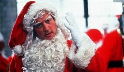 Jim Belushi plays the ringleader of a gang of rogue brawling Santas.