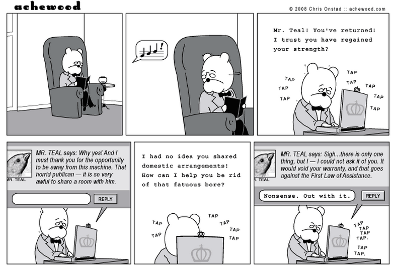 A portion of the strip from April 9, 2008