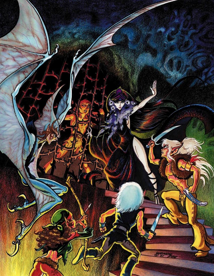 Interior page from Elfquest #4 (Art by Wendy Pini)