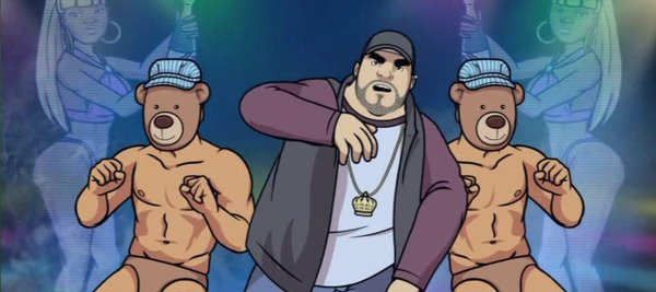 Miley may have done it first, but Chozen (Bobby Moynihan) does it better.