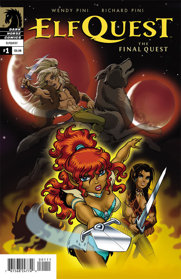 Elfquest: The Final Quest #1 cover. Art by Wendy Pini.