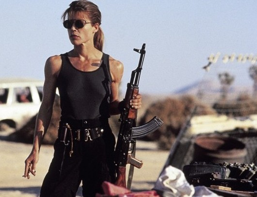 Linda Hamilton practically reinvented herself for T2: Judgment Day.