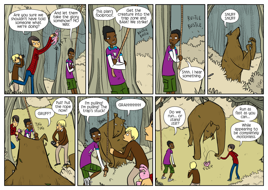 Bad Machinery strip from August 23, 2010 by John Allison.