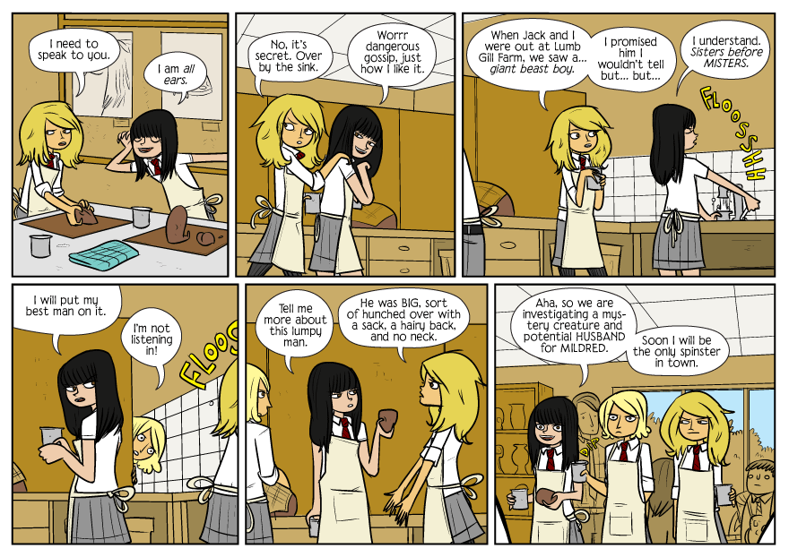 Bad Machinery strip from 12/20/2010 by John Allison.