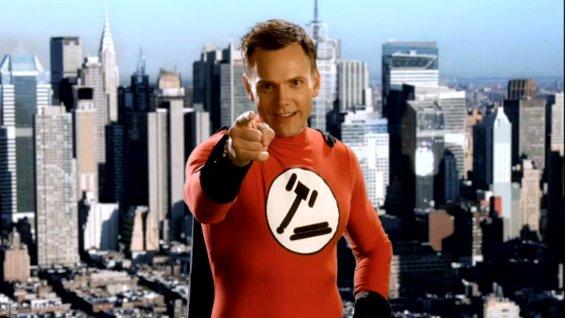 Jeff Winger (Joel McHale) chooses you!