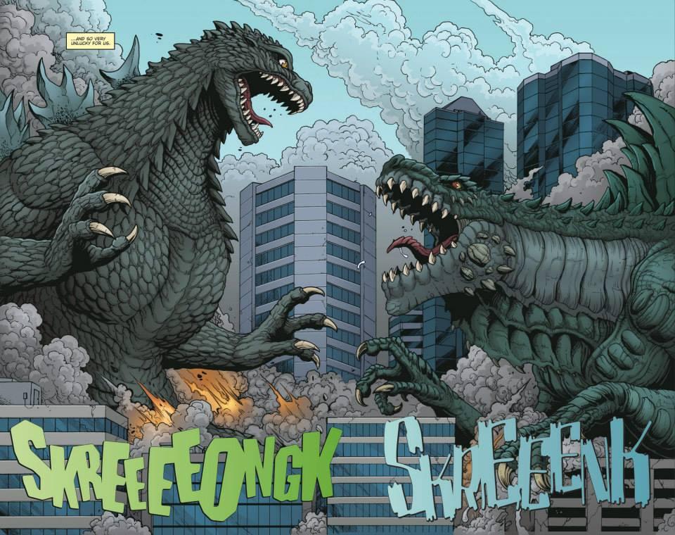 Godzilla: Rulers of Earth art by