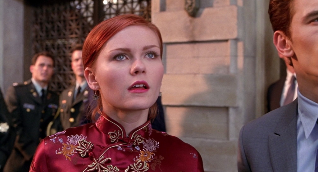 Mary Jane Watson (Kirsten Dunst) is a fashion criminal.