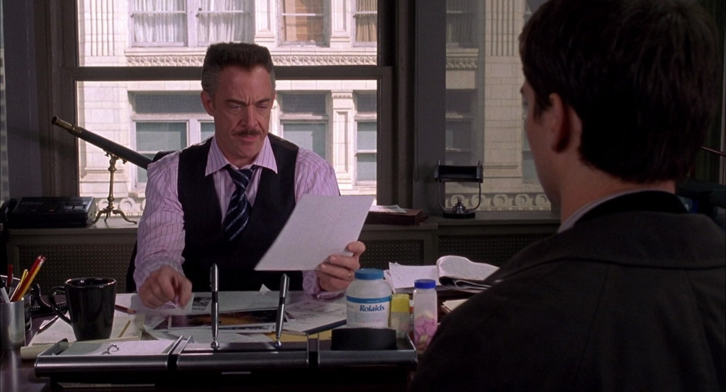 We all agreed that J.K. Simmons as J. Jonah Jameson was the highlight of the movie.