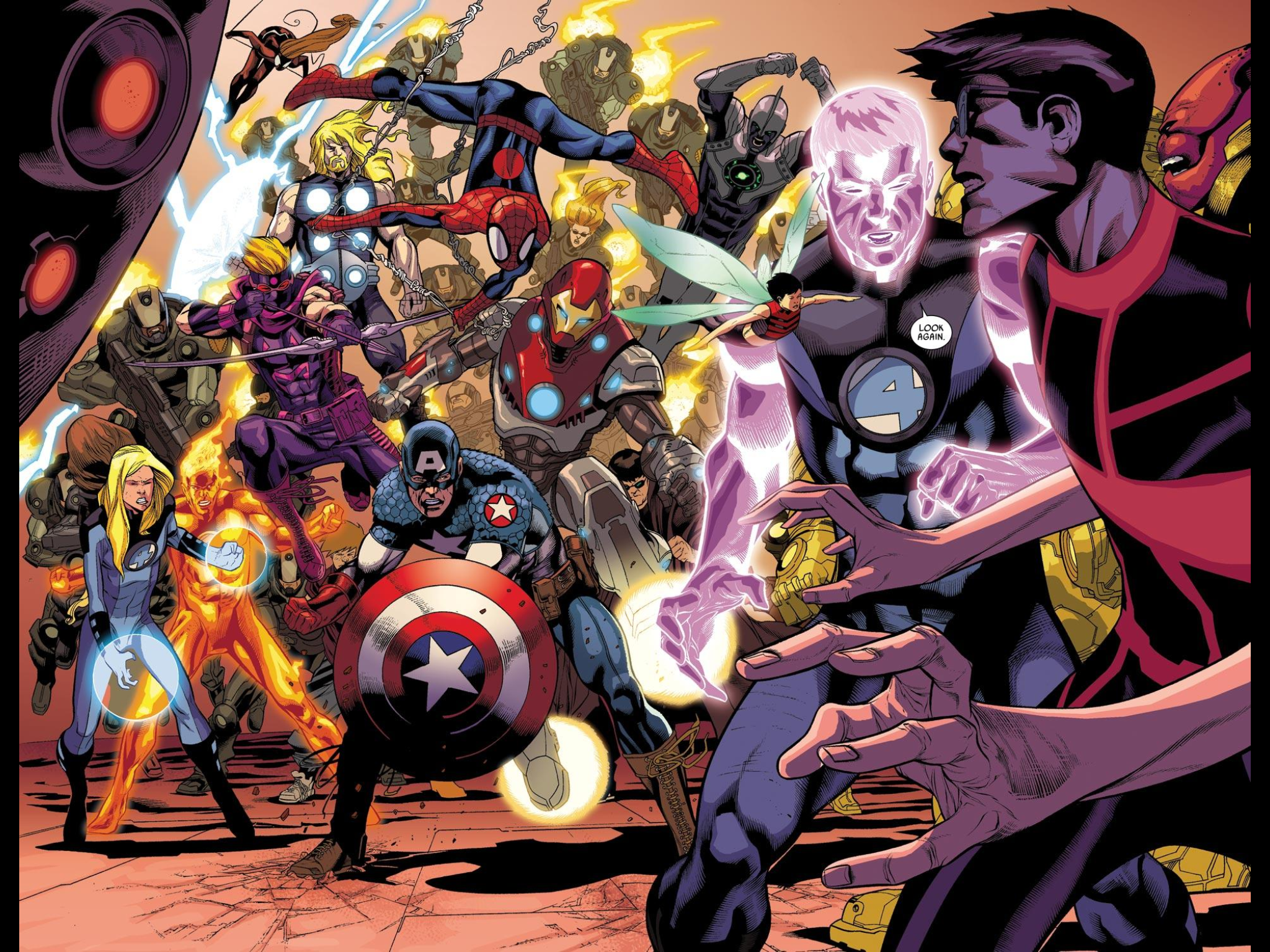ultimate marvel  a world of consequences