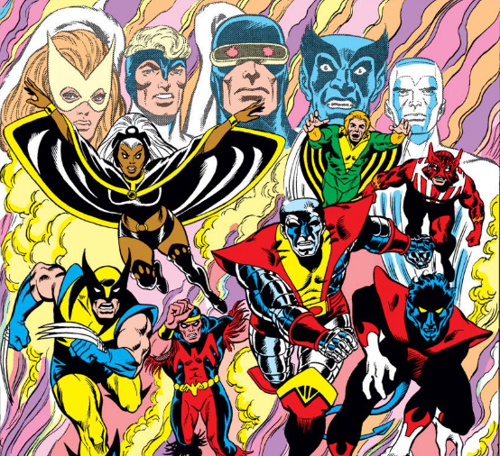 Portion of a page from Giant-Sized X-Men #1. Art by Dave Cockrum.