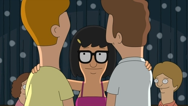 Tina is the soul of Bob's Burgers. (image source)
