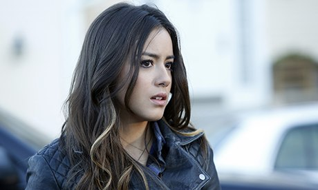The writers' attempts to forcefeed super-hacker Skye (Chloe Bennet) nearly suffocated the show. (Image: Collider)