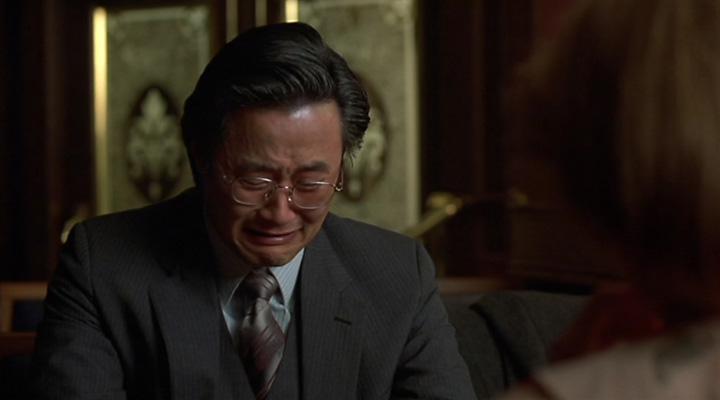 The perplexing sadness of Mike Yanagita. (Source)