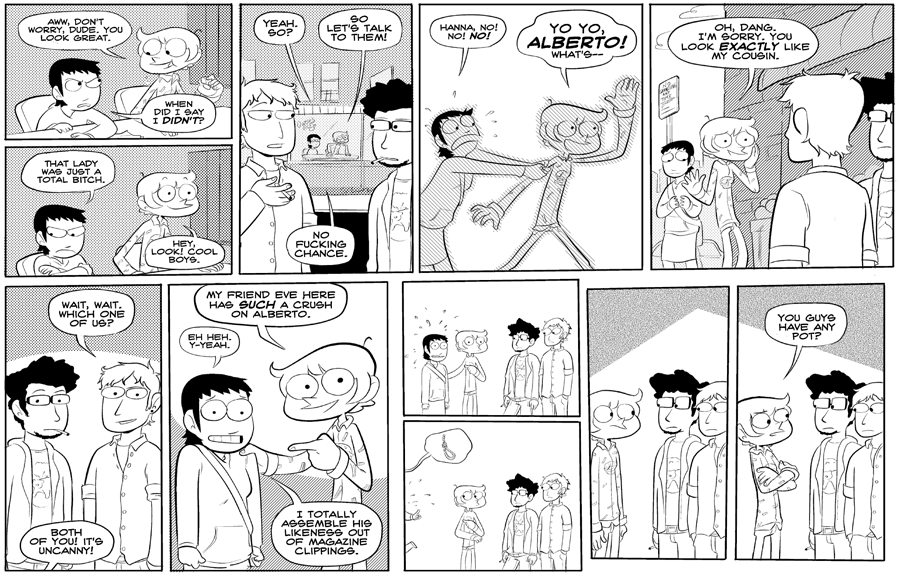 Strip from 2/22/08.