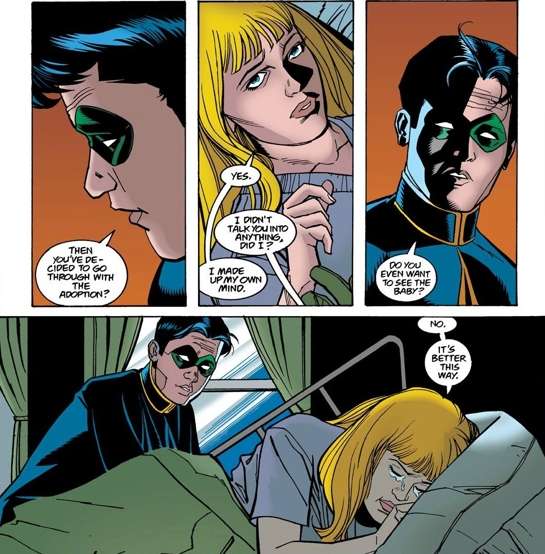 From Robin #65. Art by William Rosado.