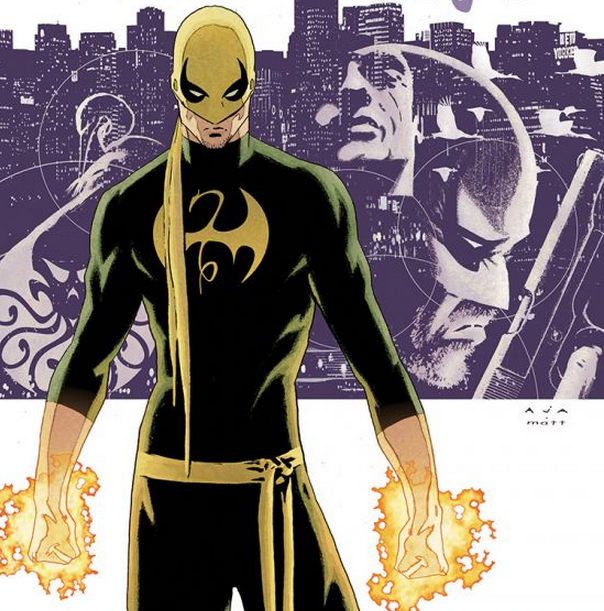 The Immortal Iron Fist. Art by David Aja.