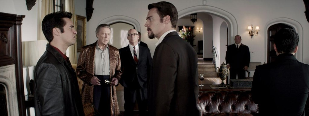 The Four Seasons' ties with the mob, especially noted gangster Gyp DeCarlo (Christopher Walken), is central to the plot. (source)