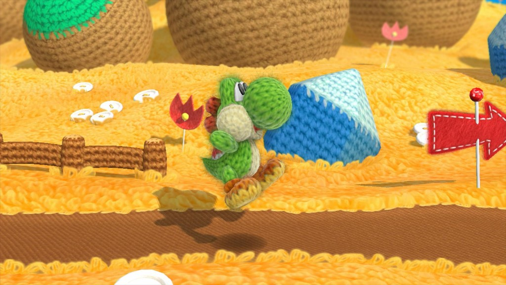 Awwwwwww Yoshi's Woolly World! (source)