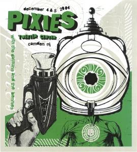 Pixies 2004 concert poster
