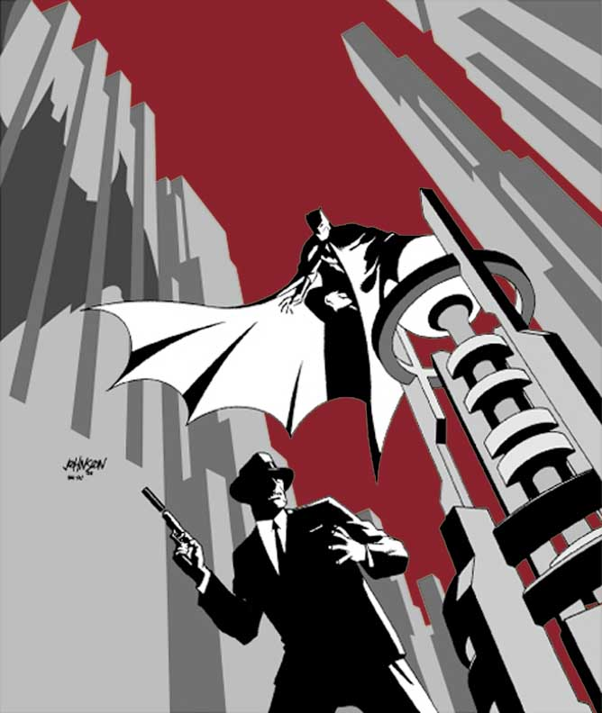Cover to Detective Comics (vol 1) #761 by Dave Johnson
