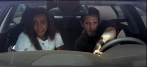Ione Butler and Nick Apostolides driving fast in a Hyundai Genesis! Vroooom! [source]
