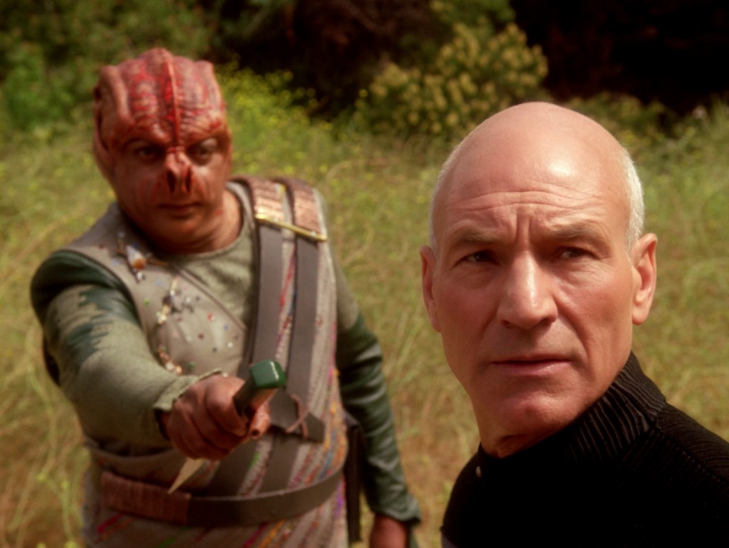 Dathon (guest star Paul Winfield) and Picard (Sir Patrick Stewart) condense everything Star Trek is about into about forty minutes.