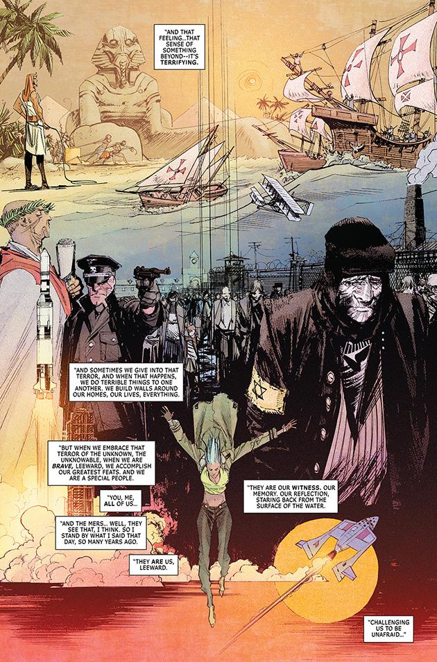Leeward learns the truth in The Wake #10.