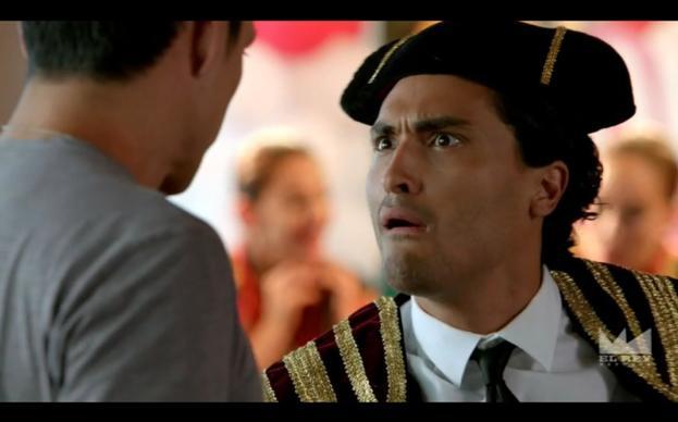 Jonny Cruz as Ricky.