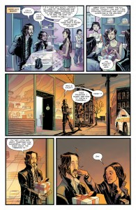 From Sleepy Hollow #1, with art by Jorge Coelho and Tamra Bonvillain.