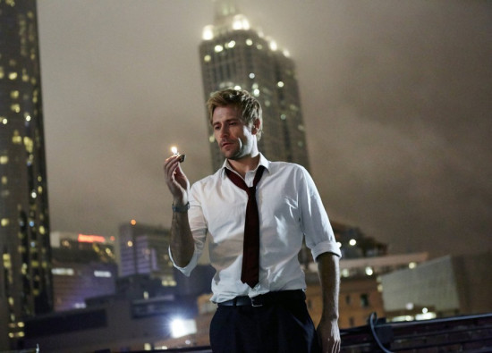 "Matt Ryan stars as the roguish ""dabbler of the dark arts"" John Constantine."