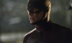 Grant Gustin's Barry Allen in The Flash.