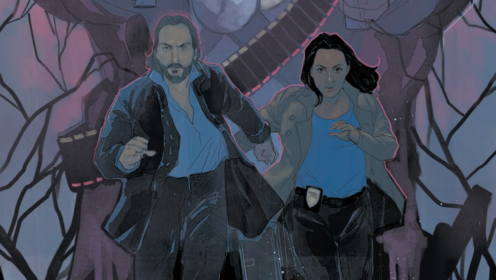 From the cover of Sleepy Hollow #1. Art by Phil Noto.