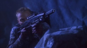 The Xindi conflict was the only time Starfleet space marines have been seen on screen.