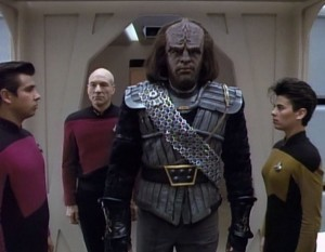 When the Federation refused to get involved in a Klingon Civil War, Worf resigned his Starfleet commission to fight for the more honorable side.