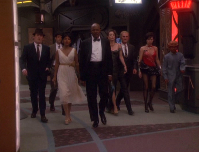 In the end, Sisko decides to play along with the fantasy.