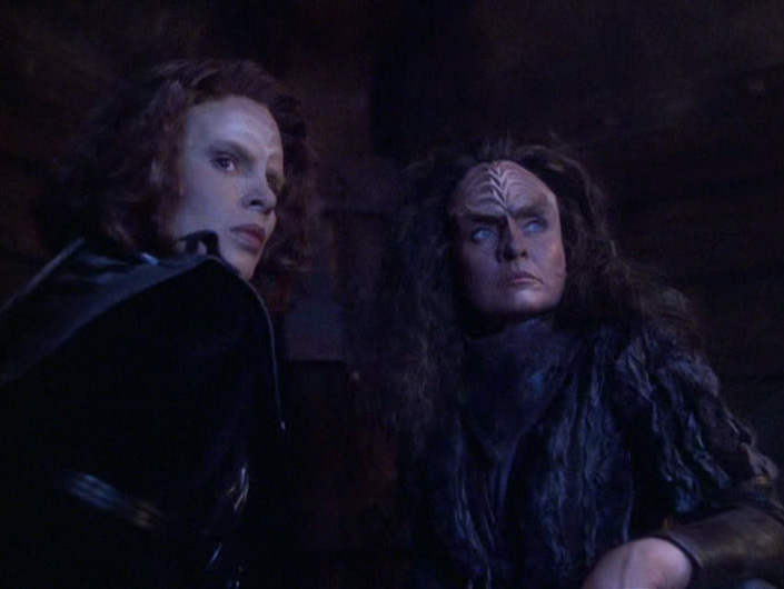 B'Elanna put her conflict with her mother aside and risked her own life to rescue Miral's soul from Klingon Hell.