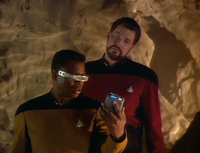 """My tricorder's picking up that this is bullshit, Commander."""