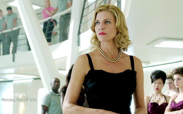 Tricia Helfer leads the cast of Ascension.