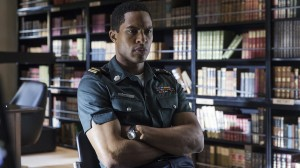 Brandon Paul plays Aaron Gault, Ascension's second in command, placed in charge of investigating the ship's first homicide.